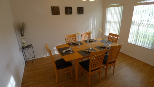My villa in florida 9 dining room for My dining room 9 course