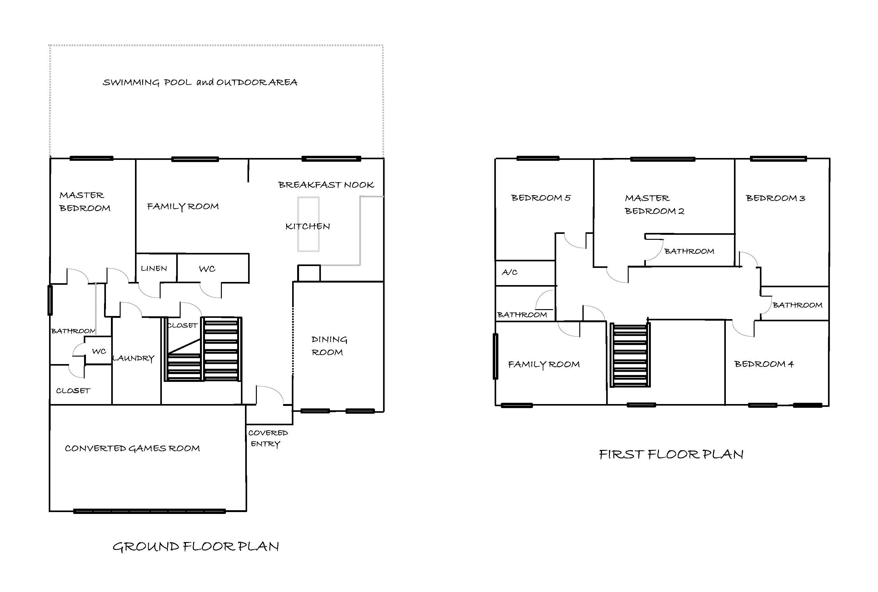 My villa in florida floor plan for My floor planner