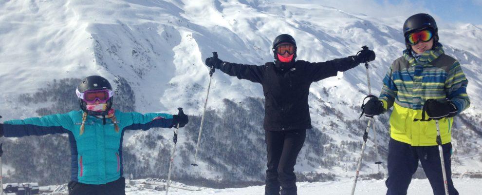 Skiing 2018